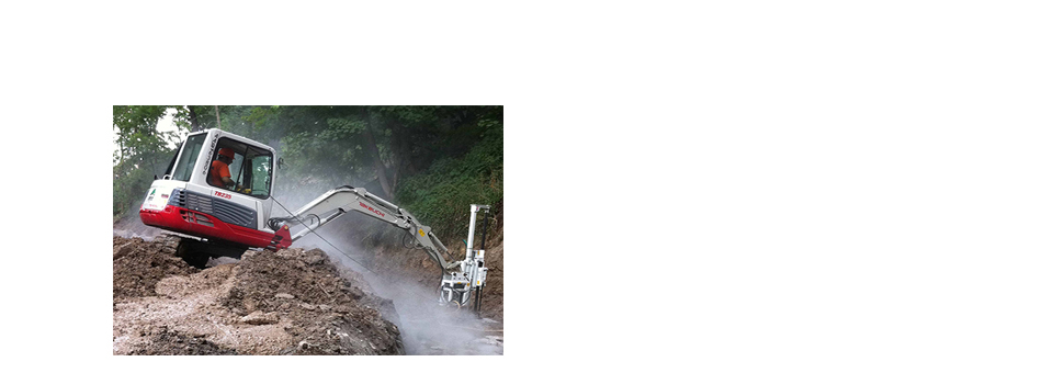 DRILLING & TUNNELING